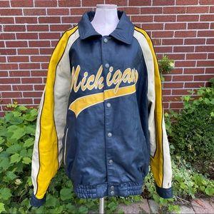 Tank performance wear Michigan leather jacket